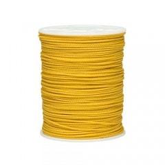 "1/8"" Diamond Braided Polyethylene Stringline Yellow"